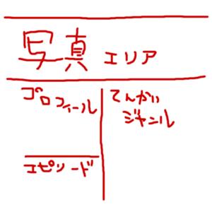 プロフィールページデザイン素案